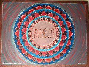 Canvas 50 cm x 50 cm Acrylic paint