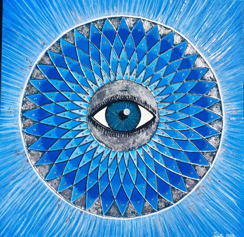 Eye, healing, mandala